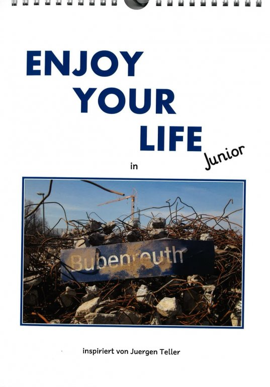 "Geburtstagskalender ""Enjoy your life - junior"""